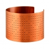 Ink Dots Cuff/ Red Copper