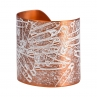 Can't Pin It On Me! Cuff in Flame Red Copper