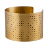 Ink Dots Cuff/ Golden Brass