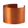 Connect the Dots Cuff in Flame Red Copper