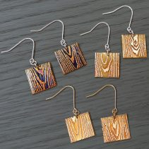 Off Cut Dangle Earrings