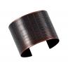 Gridded Cuff/ Blackened Copper