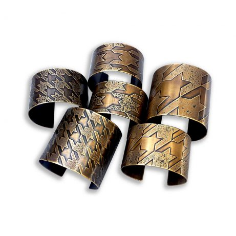 Houndstooth Cuff Collection