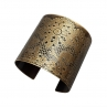 Lacy Cuff in Antique Brass