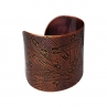 Better to Burn Out Cuff in Antique Copper