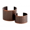 En ZigZag Cuffs/ Antique Copper