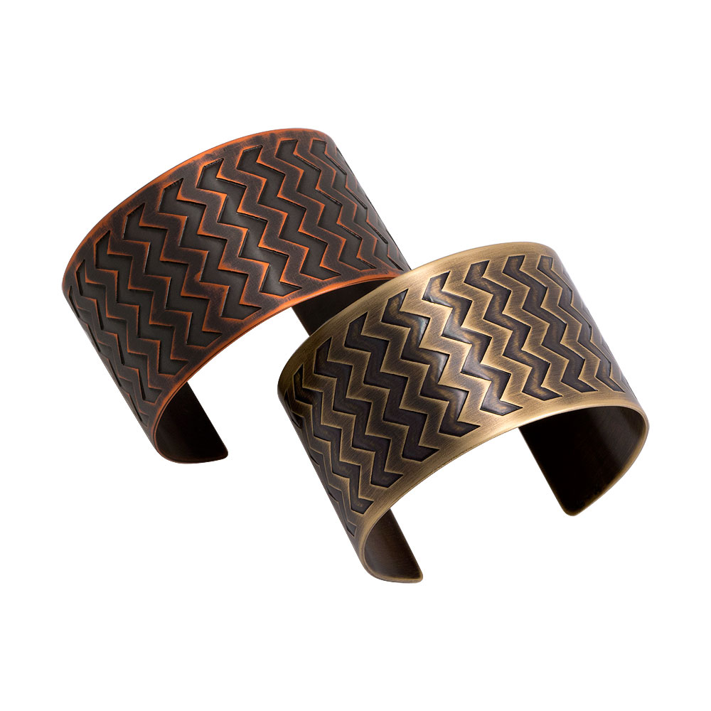 Narrow En ZigZag Cuffs
